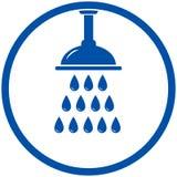 Testa di doccia Fotografia Stock