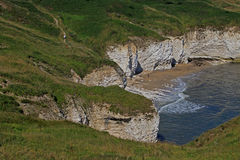Testa di Flamborough, Yorkshire orientale Immagine Stock