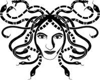 Testa di Gorgona della medusa royalty illustrazione gratis