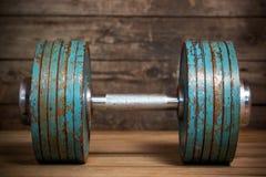 Testa di legno d'annata Fotografia Stock Libera da Diritti