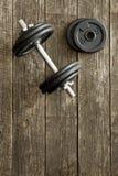 Testa di legno del ferro Immagini Stock