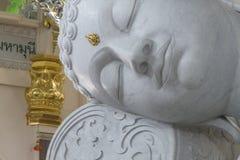 Testa di marmo di Bhuddha Immagine Stock