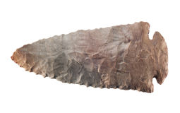 Testa di pietra della freccia Fotografie Stock Libere da Diritti