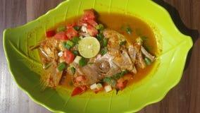 Testa di Pindang del fish& x28 di Kakap; Snapper& x29; fotografia stock