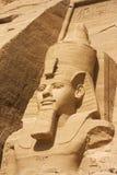 Testa di Ramses II Immagini Stock