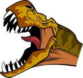 Testa di T Rex Fotografie Stock Libere da Diritti