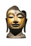 Testa di un buddha Immagini Stock Libere da Diritti