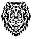 Testa di un leone Fotografia Stock