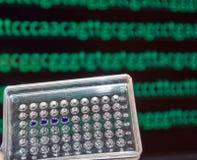 Testa för DNA Fotografering för Bildbyråer