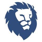 Testa Lion Simple Fotografia Stock Libera da Diritti
