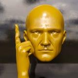 Testa maschio del Mannequin Immagini Stock Libere da Diritti