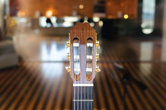 Testa motrice della chitarra Immagini Stock Libere da Diritti