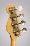 Testa motrice della chitarra bassa Fotografia Stock Libera da Diritti