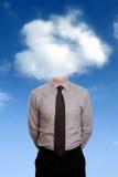 Testa nelle nubi Immagine Stock Libera da Diritti
