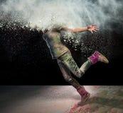 Testa in polvere Fotografia Stock Libera da Diritti