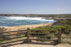 Testa rotta, grande strada dell'oceano, Australia Fotografia Stock