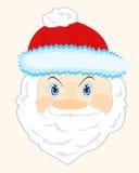 Testa Santa Claus Immagine Stock