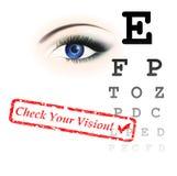 testa vision Royaltyfri Fotografi