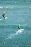 Testa Windsurfing del diamante Immagine Stock