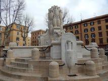 Testaccio square, Rome, Lazio, Italy, Europe Stock Image