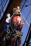 Testaferro de la victoria del HMS Fotografía de archivo
