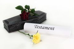 Testament Royalty Free Stock Images