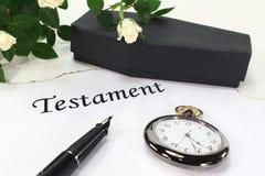 Testament Stock Image