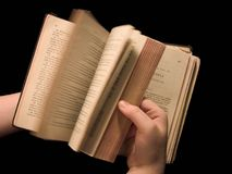 Testamento del Choctaw (paginaciones de torneado) Foto de archivo libre de regalías