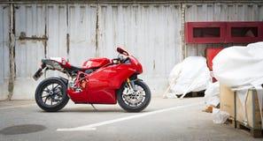 Testastretta för Ducati Superbike 999s Arkivfoton