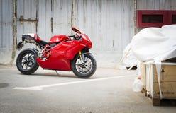 Testastretta för motorcykelDucati Superbike 999s Arkivbilder