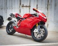 Testastretta för motorcykelDucati Superbike 999s Arkivbild