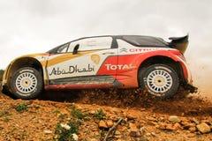 Citroen WRC Fotografia de Stock Royalty Free