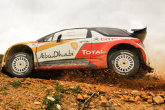 Citroen WRC Royaltyfri Fotografi