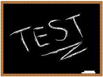 Teste Imagens de Stock