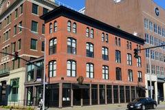 Teste-Block, Providence, RI, USA Lizenzfreie Stockbilder