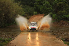 DS3 WRC de Citroen Fotos de Stock Royalty Free