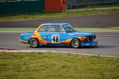 Teste de ajustamento 2016 de BMW 2002 GS em Monza imagens de stock
