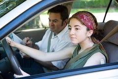 Teste de condução Imagem de Stock