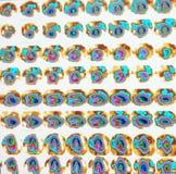 Teste de esforço miocárdico nuclear da perfusão Imagens de Stock Royalty Free