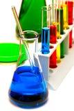Teste de exame de investigação da pesquisa da química imagem de stock