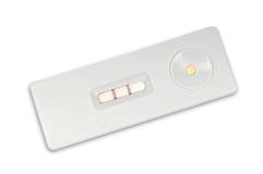 Teste de gravidez Home Imagens de Stock