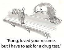 Teste de Kong Imagens de Stock Royalty Free