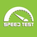 Teste de velocidade Imagens de Stock Royalty Free