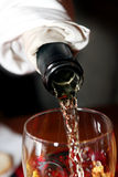 Teste de vinho em Hungria Fotos de Stock