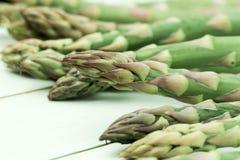 Teste dell'asparago Fotografie Stock