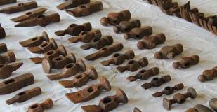 Teste di martello del metallo immagini stock libere da diritti