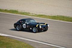 Teste 2016 do conversível de capota dura de Shelby Cobra 289 em Monza Imagem de Stock Royalty Free