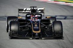 Teste do Fórmula 1 fotos de stock