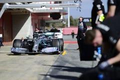 Teste do Fórmula 1 foto de stock royalty free