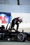 Teste do Fórmula 1 imagem de stock royalty free